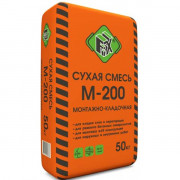 Сухая смесь «FIХ М-200» монтажно-кладочная (50 кг)
