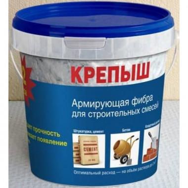 Армирующее стекловолокно «Крепыш» Arm-1,0 для штукатурных смесей и бетонов (1кг)