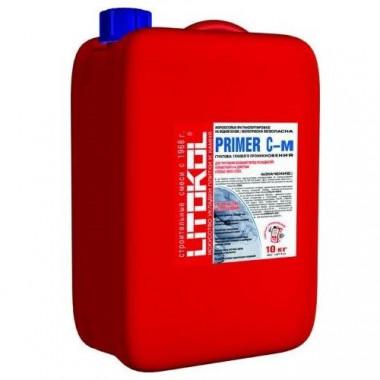 Грунтовка глубокого проникновения Litokol Primer C-м 10 кг - купить оптом, в розницу
