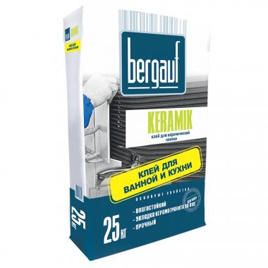 Клей для плитки Bergauf Keramik 25 кг - купить оптом, в розницу