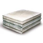 Плиты гипсовые пазогребневые полнотелые (667*500*80 мм)