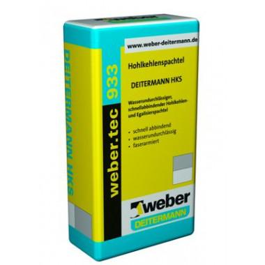 Weber Tec 933 Безусадочный цементный быстросхватывающийся водонепроницаемый раствор (25 кг)