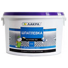 Лакра шпатлёвка латексная для внутренних работ (15 кг)