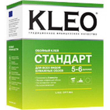 KLEO Стандарт клей для обоев 7-9 рул 160гр