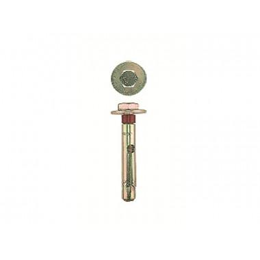 Болт анкерный ЗУБР с пластиковым кольцом, желтопассивированный, 10х100мм, ТФ2, 20шт