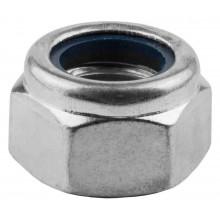 Гайка Kraftool шестигранная DIN 985 оцинкованная M16 (100 шт)