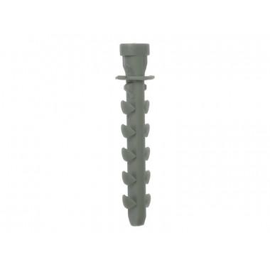 Дюбель ЗУБР для трубной клипсы в п/э ПАКЕТЕ, нейлоновый, 8 х 50 мм, 100 шт