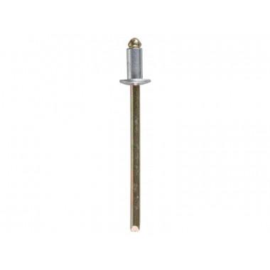 Заклепки ЗУБР стальные, 4,0x16мм, 500шт