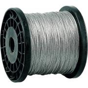 Трос ЗУБР стальной, DIN 3055, оцинкованная сталь, синтетическая сердцевина, d=1мм, L=200м