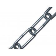 Цепь ЗУБР короткозвенная, DIN 766 оцинкованная сталь, d=3мм, L=120м