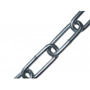 Цепь ЗУБР короткозвенная, DIN 766 оцинкованная сталь, d=4мм, L=70м
