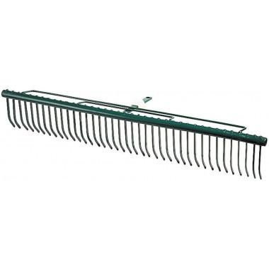 """Грабли RACO """"MAXI"""", для очистки газонов, с быстрозажимным механизмом, 39 зубцов / 680мм"""