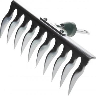 Грабли RACO садовые, оцинков., 10 витых зубцов, 260 мм