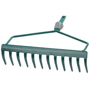 """Грабли изогнутые RACO""""MAXI"""", 12 зубцов, с быстрозажимным механизмом, 300мм"""