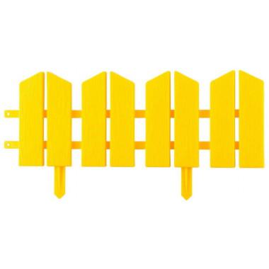 "Бордюр декоративный GRINDA ""ЛЕТНИЙ САД"", 16х300см, желтый"