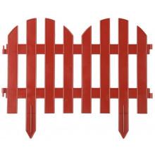 "Забор декоративный GRINDA ""ПАЛИСАДНИК"", 28x300см, терракот"