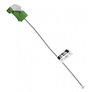 Головки-пульверизаторы регулируемые GRINDA для пластиковых бутылок, цвет зеленый/белый