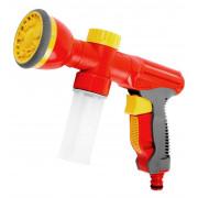 """Пистолет-распылитель GRINDA универсальный """"3 в 1"""": полив, удобрение,мойка, пластмассовый, 9-позиционный"""