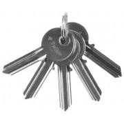 """Заготовка ключа ЗУБР """"МАСТЕР"""" для цилиндровых механизмов, английский тип, 5 шт."""