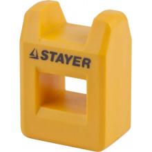 """Намагничиватель-размагничиватель STAYER """"PROFI"""" для отверток и бит, компактный"""