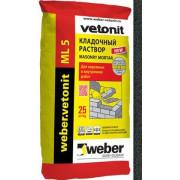 Weber.vetonit ML 5 «Mutus 152» Кладочный раствор черный (25 кг)