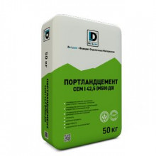 Портландцемент «De Luxe CEM I 42,5» (М500 Д0) серый (50 кг)