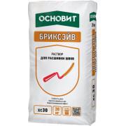 ОСНОВИТ БРИКСЭЙВ XC-30 Раствор для расшивки швов желто-зеленый 073 (20 кг)