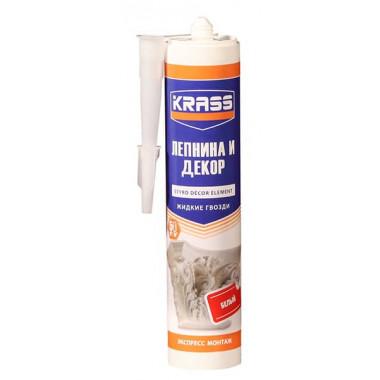 Жидкие гвозди KRASS «Экспресс монтаж» для стиропора и панелей (300 мл)