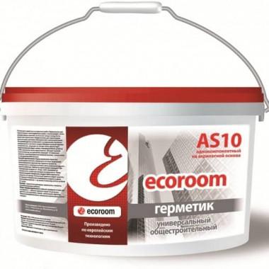 Ecoroom AS-10 Герметик универсальный общестроительный (15 кг)
