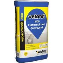 Weber Vetonit «3100» Наливной пол финишный (20 кг)