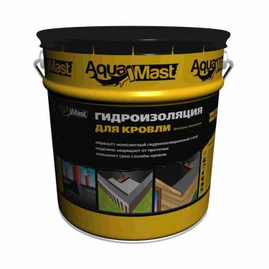 AquaMast Мастика битумно-резиновая для кровли (18 кг)