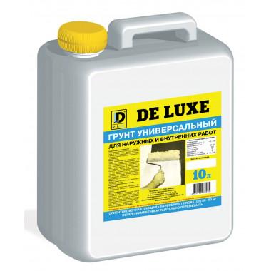 DeLuxe грунтовка универсальная (10 кг)