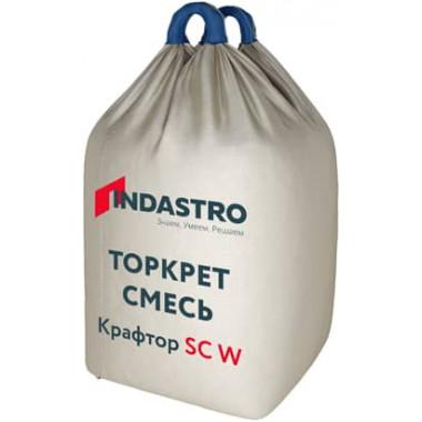 Индастро Крафтор SС20 W Торкрет смесь армированная полимерной фиброй (1000кг)