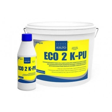Kiilto Eco 2K PU полиуретановый клей для паркета (5,45л)