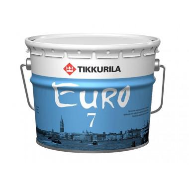 Tikkurila Euro 7 краска латексная баа А (2,7 л)