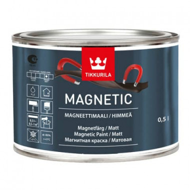 Tikkurila Magnetic Магнитная краска (0,5 л)