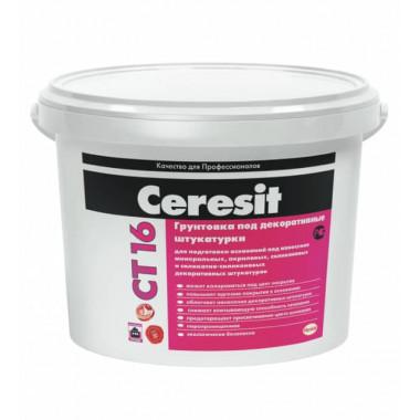 Грунтовка под декоративные штукатурки Ceresit CT 16 (10 л)