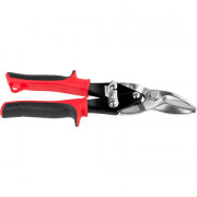 Ножницы JCB по металлу рычажные, хромованадиевая сталь, двухкомпонентная ручка, левые, 250мм JAS002