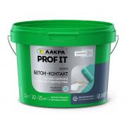 Лакра «PROF IT» Грунт Бетон-Контакт (12 кг)