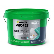 Лакра «PROF IT» Грунт Бетон-Контакт (3 кг)