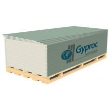 Гипсокартонный лист (ГКЛ) Gyproc Аква Оптима влагостойкий 2500х1200х12.5мм