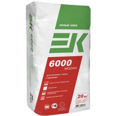 Клей ЕК 6000 MOZAIK для мозаики белый (20 кг)