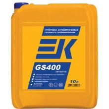 Грунтовка EK GS400 ANTISEPTIC глубокого проникновения с антисептическим эффектом (10 л)