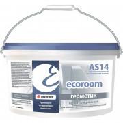 Ecoroom Герметик AS-14 паропроницаемый для светопрозрачных конструкций (7 кг)