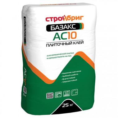 Клей для плитки Стройбриг Базакс АС10 25 кг - купить оптом, в розницу