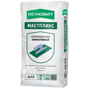 Клей для плитки Основит Мастпликс АС12 25 кг - купить оптом, в розницу