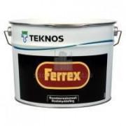 Краска антикоррозионная TEKNOS FERREX серая 10л - купить оптом, в розницу