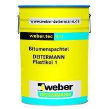 Weber Tec 911 Гидроизоляция кровельная (6 кг)