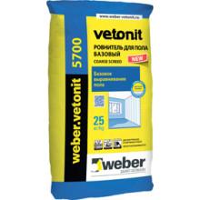 Weber Vetonit «5700» Ровнитель для пола базовый (25 кг)