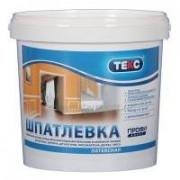 Шпатлевка латекая ТЕКС Профи 8кг (72шт/пал) - купить оптом, в розницу